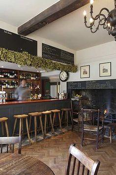 the beckford arms, wiltshire, uk Pub Interior, Bar Interior Design, Country Interior, Interior Styling, Restaurant Design, Pub Bar, Cafe Bar, Home Pub
