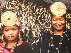 Nepal | Limbu women | Photographer unknown