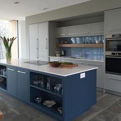 A bespoke Linear kitchen we have recently designed. #harveyjones #kitchens #bespoke #design #madeintheuk #interiordesign