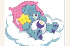 Welcome to Care-A-Lot, that little place in the clouds where the Care Bear family resides. Here you can find gifs, artwork both old and new, the music of Care-A-Lot, and random trivia about the Care Bears and Care Bear Cousins. Care Bears, Smileys, Care Bear Tattoos, Images Murales, Bear Character, Bear Photos, Bear Images, Car Bumper Stickers, Glitter Graphics
