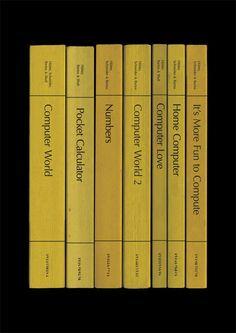 Kraftwerk 'Computer World' Album As Books by StandardDesigns, £15.00