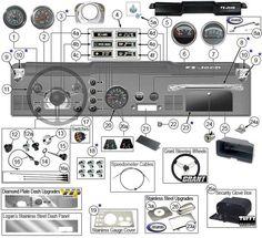 Body Parts for Jeep CJ5 & CJ7 | Jeep CJ5 Parts Diagrams