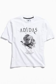 35d6e209 adidas Universe Logo Tee Graphic Tees, Urban Outfitters, Universe, Crew  Neck, Adidas