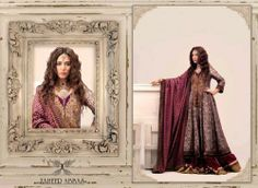Formal wear Royal Revival collection for women 2013 by Zaheer Abbas