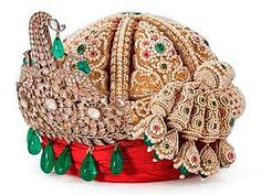 Turban crown Lucknow, the late XIXh century. Royal Crowns, Tiaras And Crowns, Royal Jewelry, Indian Jewelry, Faberge Eier, Gold Work, Crown Jewels, Silver Diamonds, Hair Jewelry