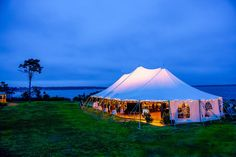 Lindsay Talbot and Christopher Bateman Wedding in New Hampshire  Tent: Exeter Events and Tents