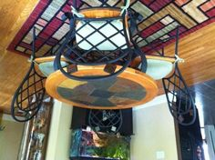 slate dining table | Round slate dining table with chairs - $150 ...