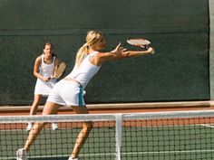 In doubles play, figuring out who should hit the ball can be confusing. Learn the rules of court coverage and ball management to build a successful doubles team.
