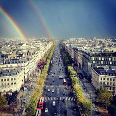 Rainbow - Street Photography