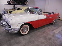 1956+Pontiac+Starchief+Convertible Maintenance/restoration of old/vintage vehicles: the material for new cogs/casters/gears/pads could be cast polyamide which I (Cast polyamide) can produce. My contact: tatjana.alic@windowslive.com