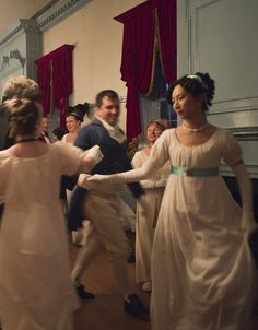 Jane Austen Ball | Flickr - Photo Sharing! I took this one!  Which is why it is blurry.