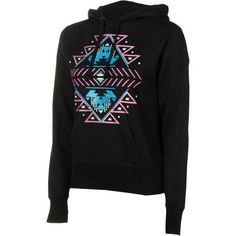 Billabong Distractions Pullover Hoodie  Womens Black, S