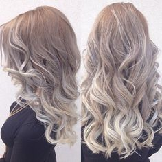Image result for ash blonde ombre balayage