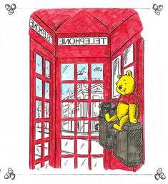 Pooh bear Winne The Pooh, Winnie The Pooh Quotes, Winnie The Pooh Friends, Disney Winnie The Pooh, Disney Time, Disney Nerd, Pooh Bear, Tigger, Teddy Bear Cartoon