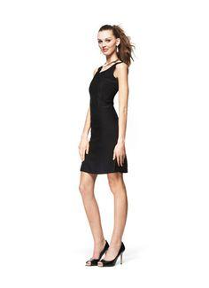#FashionStar Episode 5: Ronnie Escalante's Sleeveless Low-V Sheath Dress for Macy's
