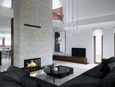 Modern house for lovers of elegance! Lounge Design, Home And Garden Store, Beautiful House Plans, Uk Homes, House Entrance, Design Case, Home Projects, Building A House, Modern Design
