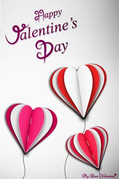 valentine balloons happy valentines day Cute Valentines Day Wallpapers