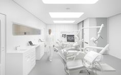 http://leibal.com/interiors/white-space-orthodontic-clinic/ #minimalism #minimalist #minimal