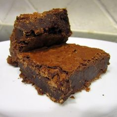 Martha's Double Chocolate Brownies