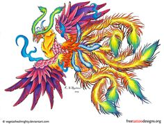75 Free phoenix tattoos + their meaning. Designs include Chinese, Japanese and tribal phoenixes. Phoenix Tattoo Arm, Japanese Phoenix Tattoo, Phoenix Tattoo Design, Arm Tattoo, Tattoo Art, Girly Tattoos, Tribal Tattoos, Tatoos, Peacock Tattoo