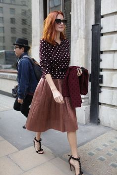 labellefabuleuse: Taylor Tomasi Hill during LFW, Spring 2014 - Breakfast At Zaras