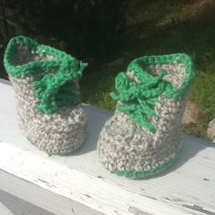 Baby booties for a new little friend