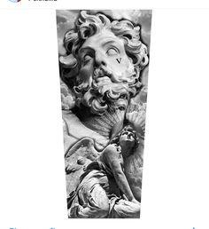 V under the eye Zeus Tattoo, Arm Tattoo, Sleeve Tattoos, God Tattoos, Body Art Tattoos, Tattoo Sketches, Tattoo Drawings, Greek God Tattoo, Religion Tattoos