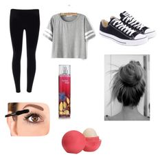 """""""Running late outfit⏰"""" by sadiecoda ❤ liked on Polyvore"""