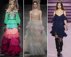 Fall/ Winter 2016-2017 Fashion Trends: Ruffles Trends 2017   For more inspirations visit and follow: www.delightfull.eu