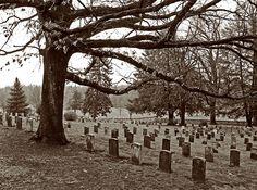 Gettysburg cemetery....such a presence