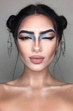 Resultado de imagem para makeup  coachella