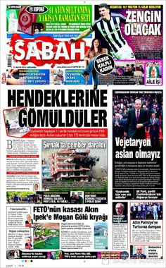 #20160511 #TürkiyeHABER #TURKEY #TurkeyTodayNEWSpapers20160511 Wednesday MAY 11 2016 http://en.kiosko.net/tr/2016-05-11/ + http://www.trthaber.com/foto-galeri/gazete-mansetleri-11-mayis-2016/10411/sayfa-10.html <+> #SABAH20160511 http://en.kiosko.net/tr/2016-05-11/np/sabah.html