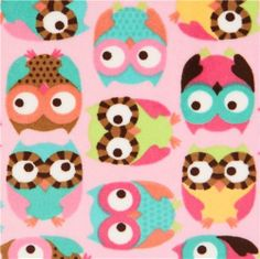 owl minky fabric pink fleece plush Timeless Treasures (per 0.5 yard multiple) Timeless Treasures http://www.amazon.com/dp/B00FPLAEJ6/ref=cm_sw_r_pi_dp_FloKtb1F1TW13SHY