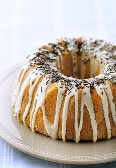 Banaani-kahvikakku Finnish Recipes, Fruit Bread, Baked Donuts, Little Cakes, Trifle, Something Sweet, Coffee Cake, No Cook Meals, Food And Drink