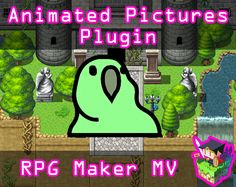 Animated Pictures plugin for RPG Maker MV by Olivia