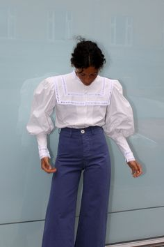 Leg Of Mutton Sleeve, Looks Vintage, Mode Inspiration, Blouse Vintage, Womens Fashion, Fashion Trends, Fashion Wear, Spring Fashion, Outfits