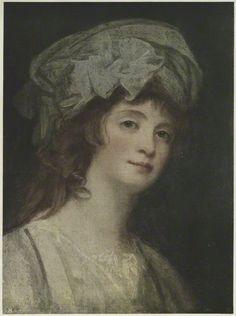 Stéphanie Félicité Ducrest de Saint-Aubin, Comtesse de Genlis    published by The Medici Society Ltd, after George Romney  chromolithograph, 1921