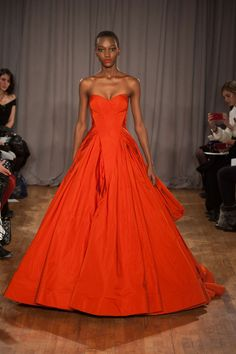 31 photos of Zac Posen at New York Fashion Week Fall 2014.