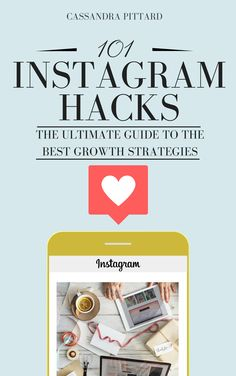 101 Instagram Hacks eBook What if I told you that growing on Instagram was easy if only you knew the right strategies? There are 101 ways to grow, monetize and manage your Instagram profile, and I have them all!! Would you like to know what they are? #Instagram #growth #hacks