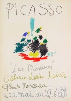 Expo 59 - Galerie Louise Leiris Collectable Print by Pablo Picasso at Art.com