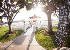 http://socalweddingconsultant.com Southern California Wedding Planner Outdoor gazebo Newport Dunes Wedding, Newport Beach