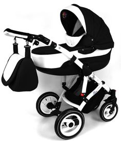 Ello Baby Pram 3in1 Travel System Black