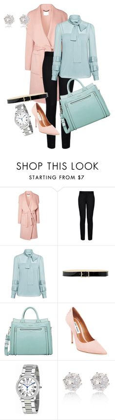 """""""Office outfit for winter"""" by maryemmanuel on Polyvore featuring L.K.Bennett, STELLA McCARTNEY, RED Valentino, Kate Spade, Steve Madden, Cartier and River Island"""