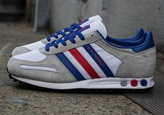 57a384d4d82b46 adidas Originals L.A. Trainer - July 2013 Releases - SneakerNews.com.  Gestreifte TurnschuheBlaue SchuheAdidas ...