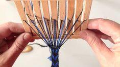 Mönstervävda band med särskilda mönstertrådar