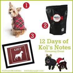 Enter to win a Tartan Popover Sweater from Gold Paw Series, Treats from Treats Happen and custom silhouette pet art from My Dog Likes US/CAN 12/20 #ContestEntry