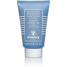 Sisley Express Flower Gel Toning Firming and Hydrating Mask ($88) ❤ liked on Polyvore featuring beauty products, skincare, face care, face masks, fillers, beauty, colorful fillers, fillers - blue, sisley face mask and moisturizing mask