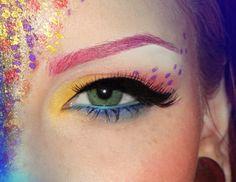 Pastel Makeup Rainbow EyeShadow- The Dreamiest Ways to Wear It. Pastel Makeup, Makeup Art, Beauty Makeup, Hair Makeup, Hair Beauty, Purple Makeup, Makeup Ideas, Makeup Eyeshadow, 2017 Makeup