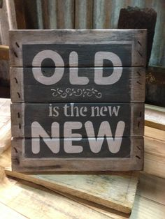 Pallet sign - first one I made from scratch no hubby making it!