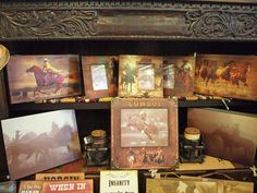 We have a large selection of western decor and tableware at Aldrich Apothecary.  Our inventory changes frequently, so come in and see what's new today!  Aldrich Apothecary 115 W. Main Street Council Grove Kansas 620-767-6731